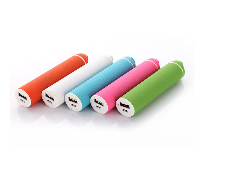 Outdoor  2600mAh  portable power bank Lithium Battery USB Power Bank for smartphone