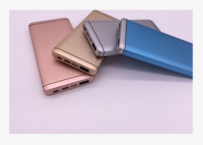 QC2.0 Quick Charge Portable Aluminum Lipo  Power Bank 10000mAh For Smartphone